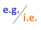 e.g.-i.e